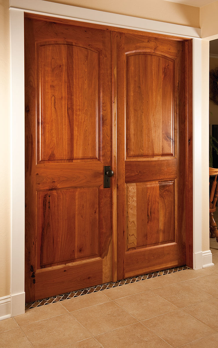 Interior exterior doors neuenschwander doors neuenschwander cherry arch top raised panel interior doors eventelaan Gallery