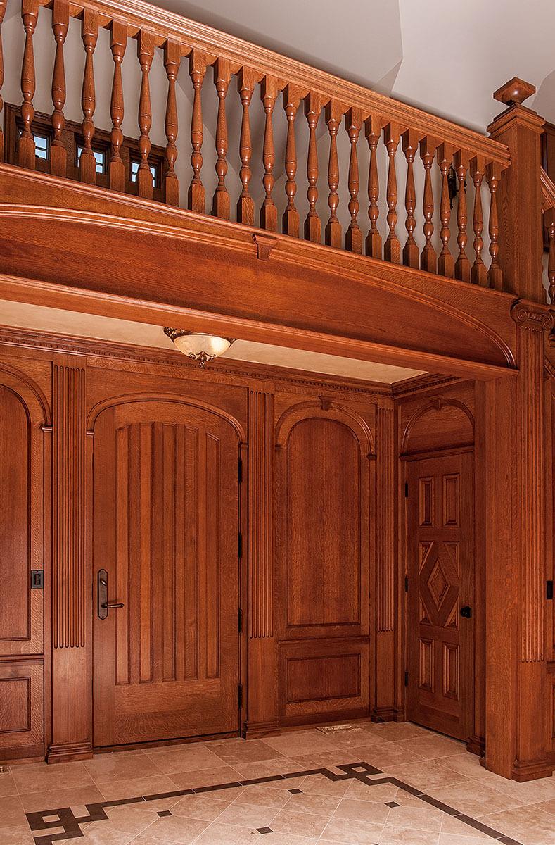 Panel quarter sawn white oak interior door craftsman interior doors - Interior Exterior Doors Neuenschwander Doors Neuenschwander Quarter Sawn White Oak Elliptical 2 Inch Thick Interior Door