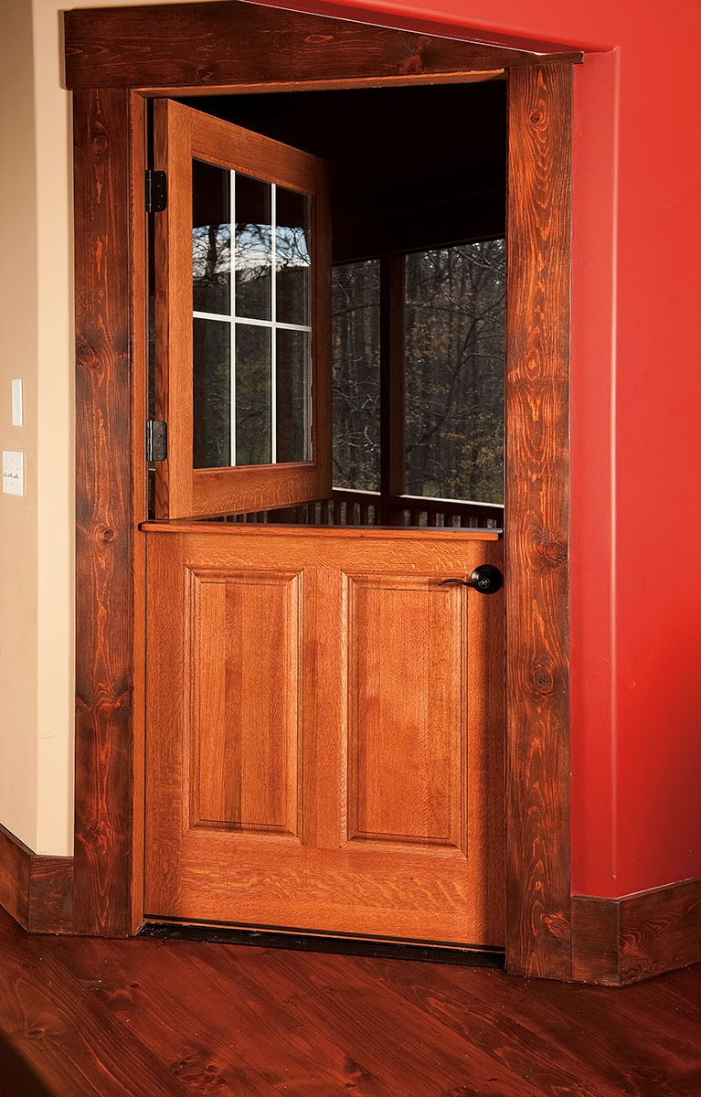 ... Neuenschwander Red Oak Double Dutch Interior Door ...