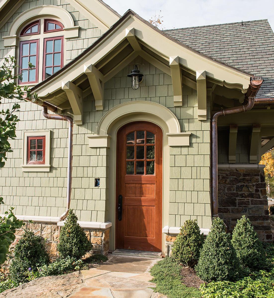 ... Neuenschwander Spanish Cedar Elliptical Arch Exterior Door ...
