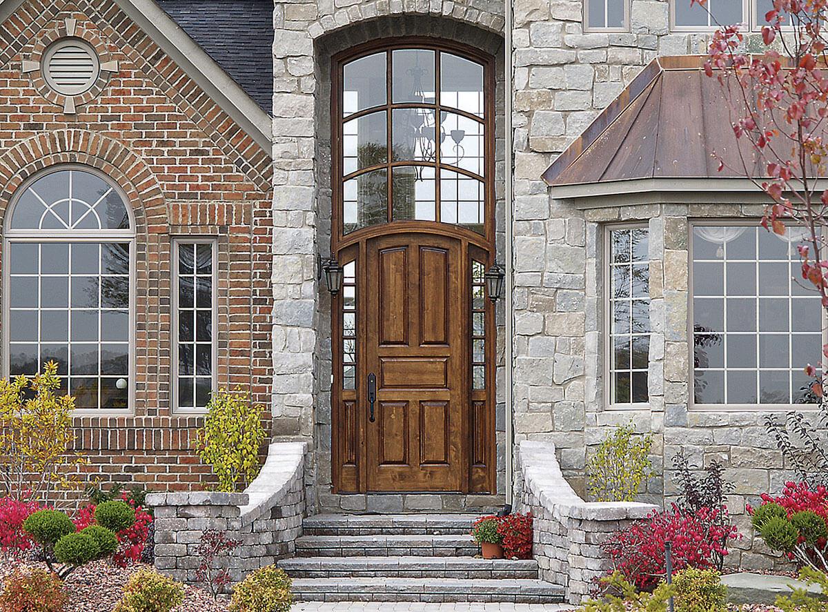 ... Neuenschwander Superior Alder 5 Panel Exterior Door ...